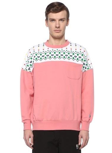 Billionaire Boys Club Sweatshirt Pembe
